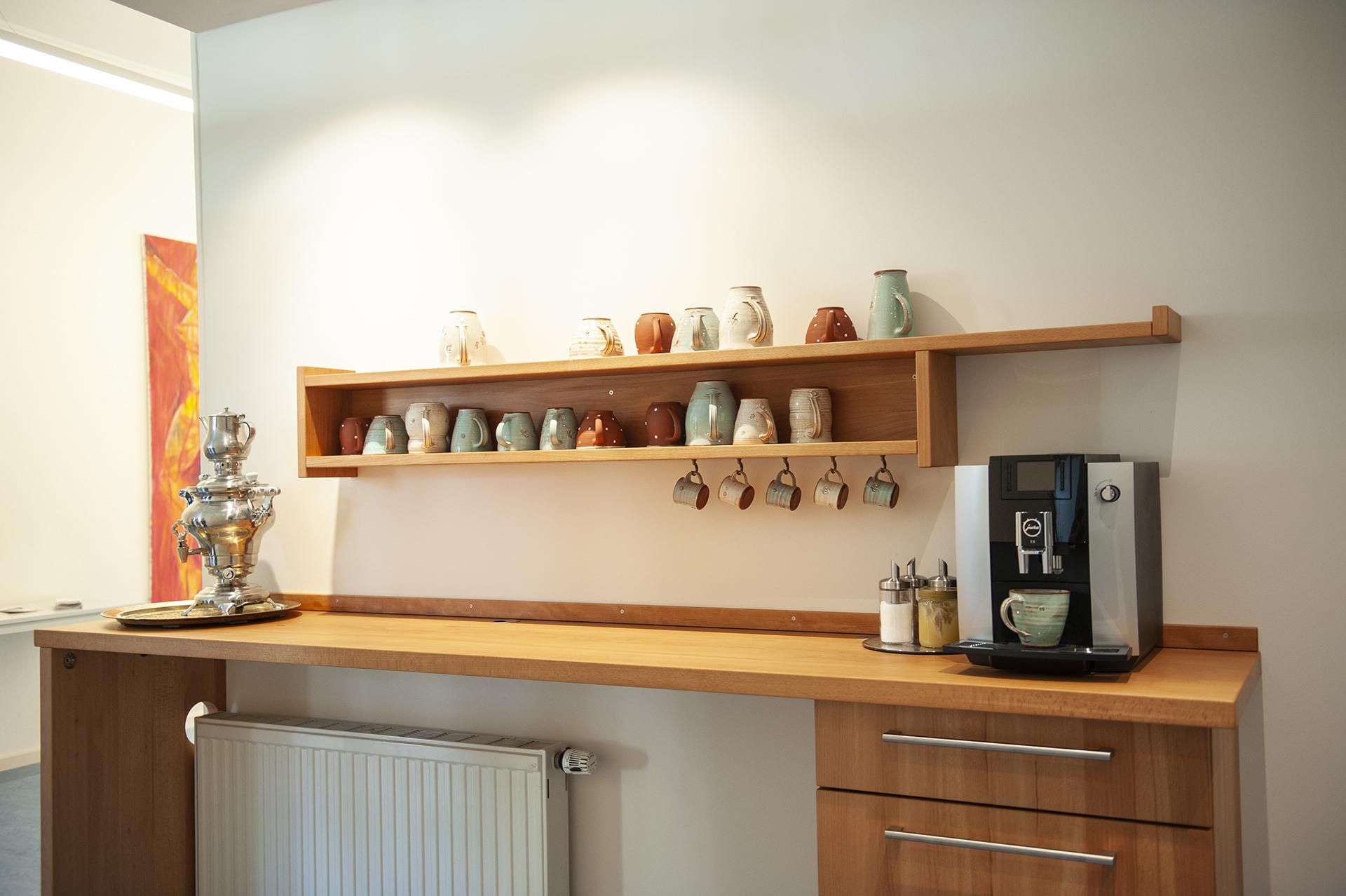 Kaffee und Teeküche